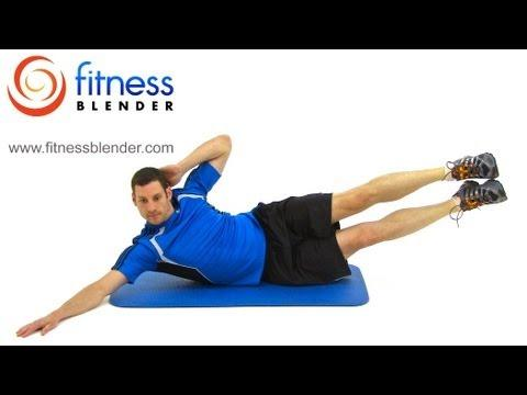 20 minute home abdominal workout  fitness blender ab and