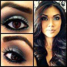 śliczna brunetka i jej makijaż :)  Zapraszam również do tablicy z biżuterią, ...