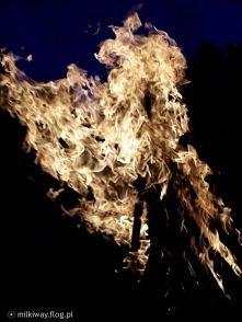 """""""Płonie ognisko i szumią knieje...""""(...)"""