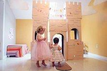 zamek z kartonu