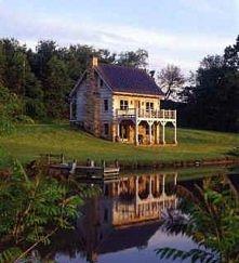 dom nad woda