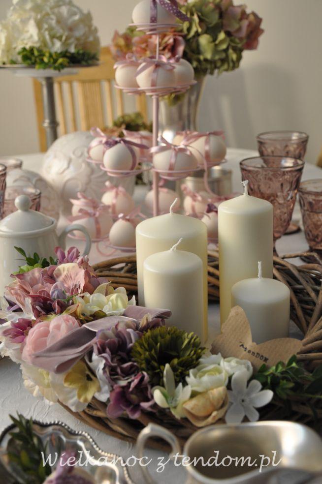 Aranżacje Wielkanocnego Stołu Z Tendompl Na świątecznie