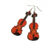 Kolczyki skrzypce- theresau...