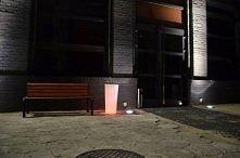 Świecąca donica LED - Dział...
