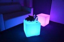 Świecąca kostka LED - Dział...