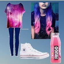 Galaxy and ombre *.*
