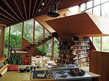 Amazing Wooden Home- Walstrom House by John Lautner
