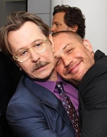Gary Oldman and Tom Hardy