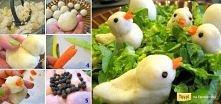 Kurczaczki z tłuczonych zie...