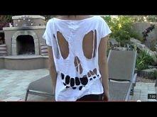 DIY Skull Shirt