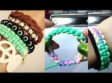 Stackable Bracelet #1 Basic Square Knot