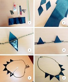 DIY collar triangle