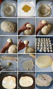 35 tortilli około 15 cm śre...