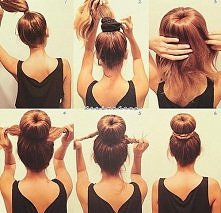 diy, diy projects, diy craft, handmade, diy quick sock bun hairstyle