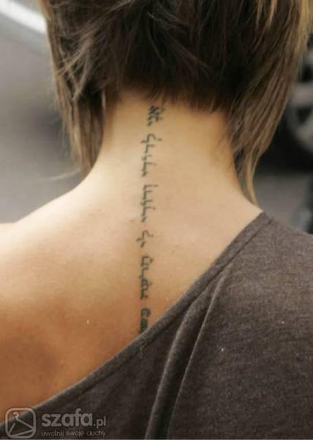 O Ile Dobrze Pamiętam To Szyja Victorii Beckham A Tatuaż
