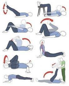 ćwiczymy płaski brzuszek