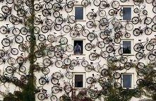 rowerowa ściana, bardzo zaskakujące zjawisko