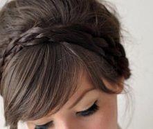 małe warkocze = idealna fryzura