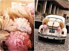 kwiaty na przybranie auta ś...