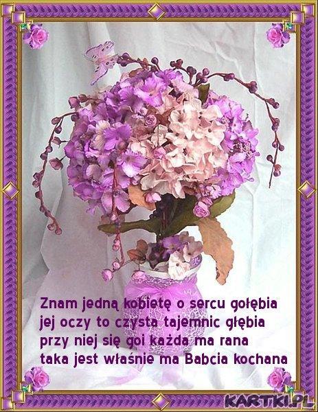 Wierszyk Dla Babci Na Kartki Zszywkapl