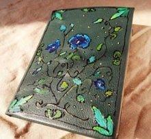 ręcznie robiony notatnik