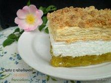 Składniki: - 450 g ciasta francuskiego - 180 g mąki pszennej - 100 g masła - ...