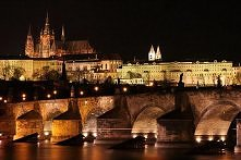 Praga nocą :)