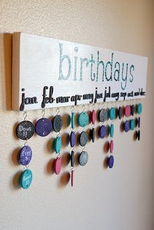 Kalendarz urodzin