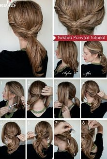 diy, diy projects, diy craft, handmade, diy twisted ponytail hairstyle