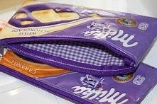 portfel z czekolady :)
