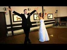 ZASKAKUJĄCY, ŚMIESZNY pierwszy taniec, funny first wedding dance with THRILLER