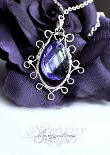 wisiorek wire wrapping