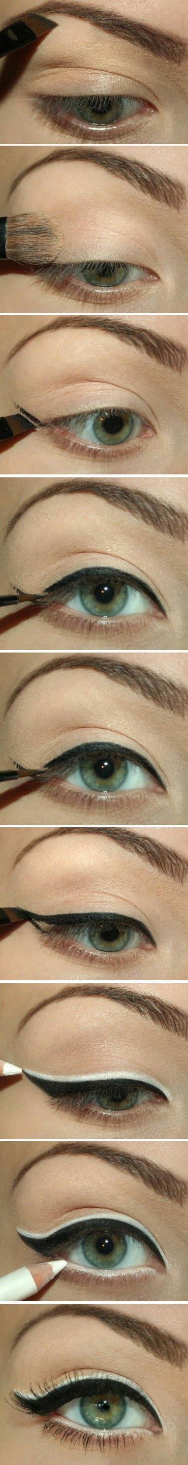 makijaż oczy - tutorial
