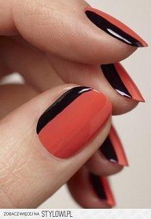czarno czerwono