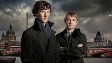 Sherlock Holmes i John Watson - Benedict Cumberbatch i Martin Freeman