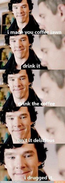 Sherlock - kawa :3