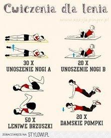 Ćwiczenia dla lenia.