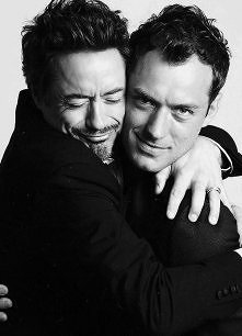 Robert Downey Jr & Jude Law