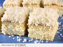 Ciasto Rafaello  Biszkopt: 160 g mąki 220 g cukru 6 jajek 2 łyżeczki proszku ...
