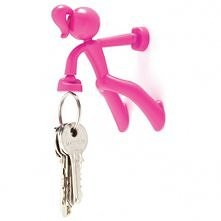 Petite Key Holder Pink by Monkey Business