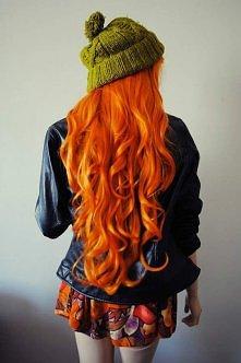 """,,Marchewkowe włosy"""" :D"""