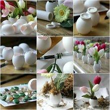 jajkowe wazoniki :D