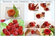 Pomidorowe róże