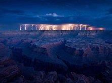 burza nad Wielkim Kanionem