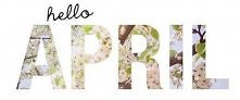 hello april, my favourite month <3