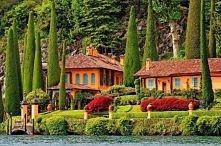 Włochy, nad jeziorem Como