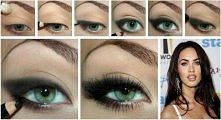 oczy w stylu Megan Fox