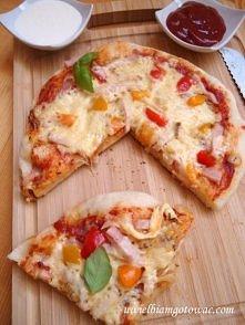 Pizza z patelni 2 :)