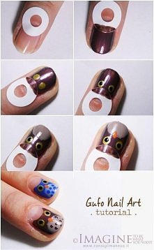 diy, diy projects, diy craft, handmade, diy owl nail art