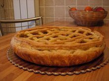 Moj przepis na francuskie ciasto z duszonymi warzywami  2 rolki francuskiego ...